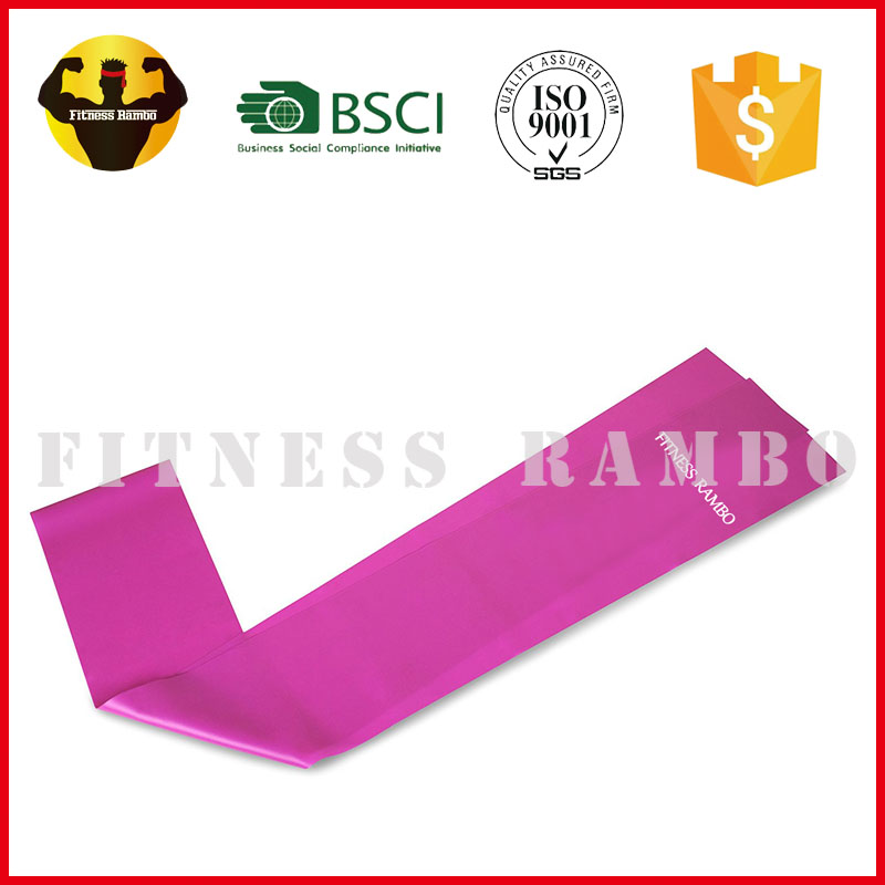 RAMBO assisted pull up band resistance latex loop exercise band