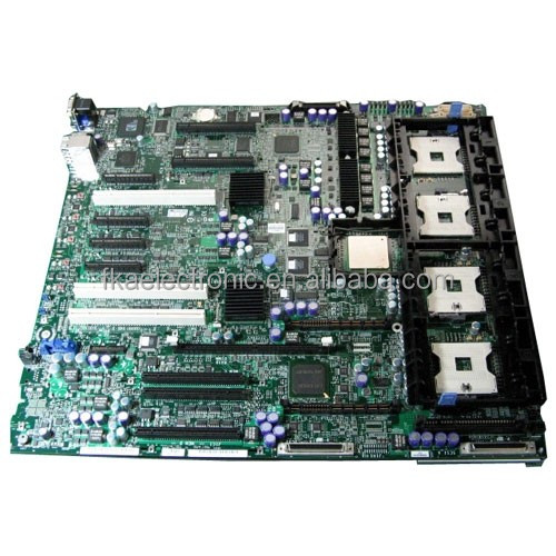 For Dell Poweredge 6850 Server Motherboard 4 CPU Sockets RD318 System Logic Board