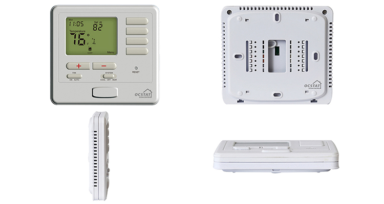 Warm Floor Use Hydronic Heating System Programmable Thermostat For Heating Cooling System