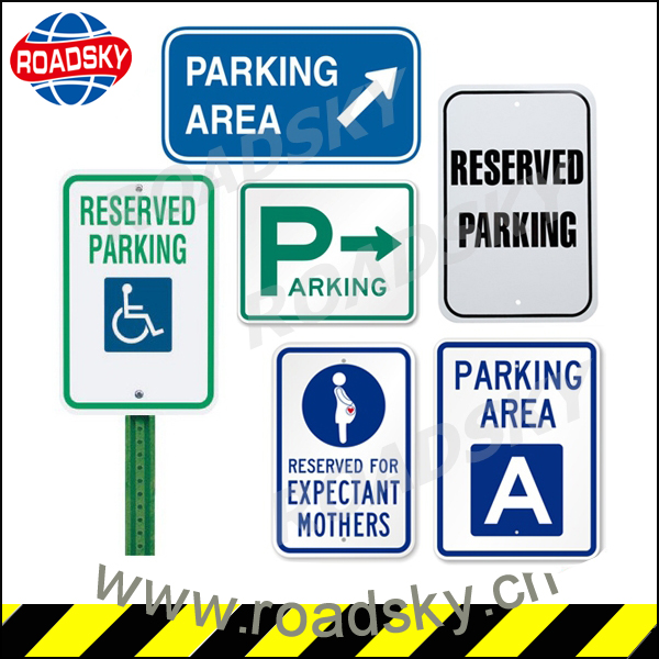Parking Meaning Of Road Signs With Aluminum Board And Reflective ...