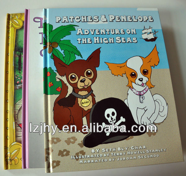 colorful hardcover children's pet book