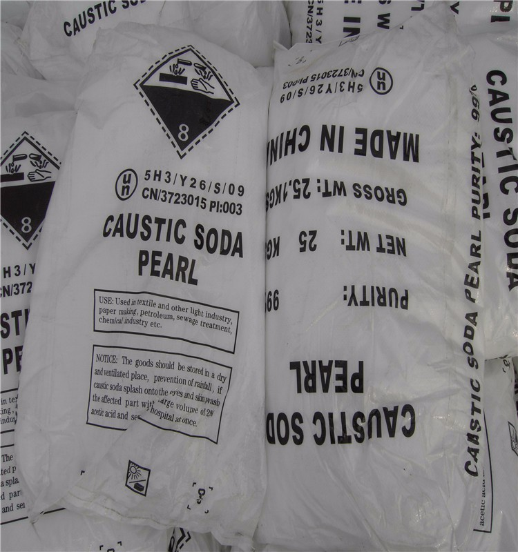 Sodium Hydroxide /Caustic Soda Pearl/Flake/Solid 99%/NaOH