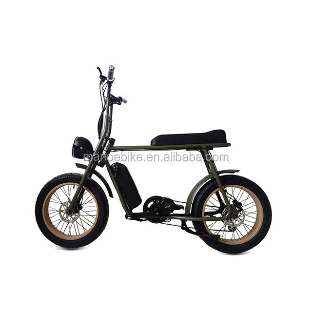 lithium battery 36v/48v 250w 350w 500w retro ebike fat tire adult chopper electric bike vehicle