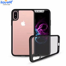 Transparent TPU PC back a generation of weaving phone case for iphone X