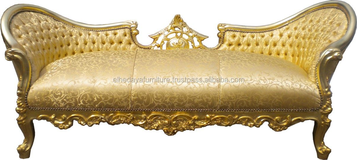 Ordinaire Gold Baroque Antique Sofa   Buy Gold Baroque Antique Sofa,Gold Sofa,Baroque  Furniture Product On Alibaba.com