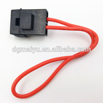 car truck automotive blade fuse box holder circuit with cover fuse rh alibaba com