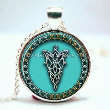 Lord of the hobbit arwen evenstar necklace symbol inspired pendant lord of the hobbit arwen evenstar necklace symbol inspired pendant necklace glass photo cabochon necklace vision aloadofball Choice Image