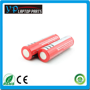 High quality factory wholesale price li-polymer 18650 battery 3.7v 2400mah 2600mah