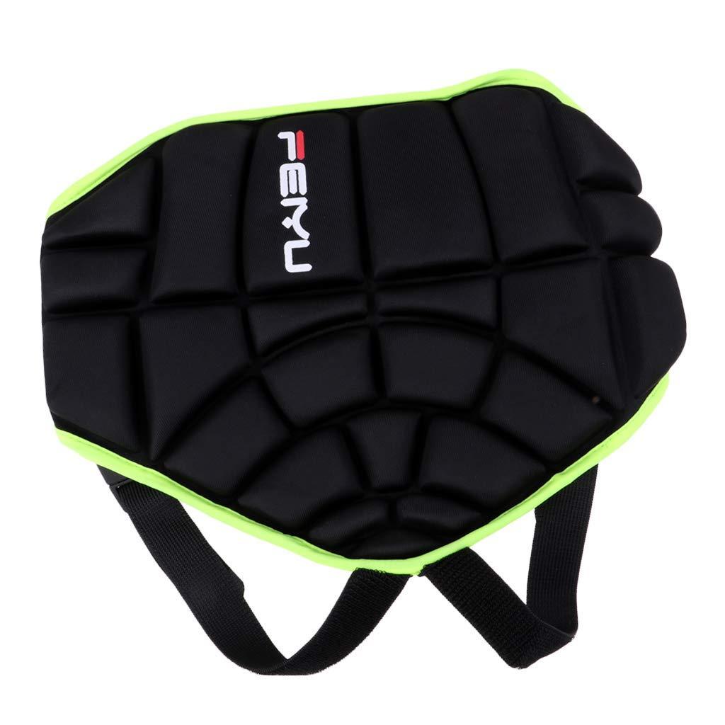 Baoblaze Kids Hip Protective Gear Padded Shorts Hip Padded Protective Shorts Protection Pad for Skating Hockey Skiing Skateboard Snowboard