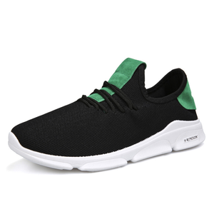 low price wholesale breathable sport shoes men running casual