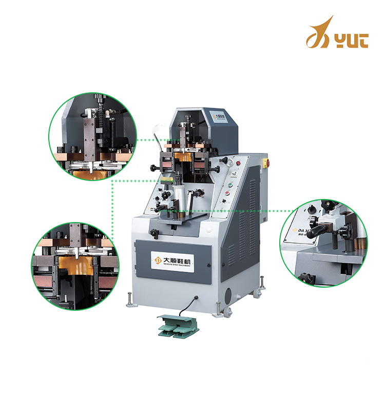 Yt-628 Automatic Counter Press Shoe Lasting Making Pressing Machines Hydraulic For Men And Women Shoes