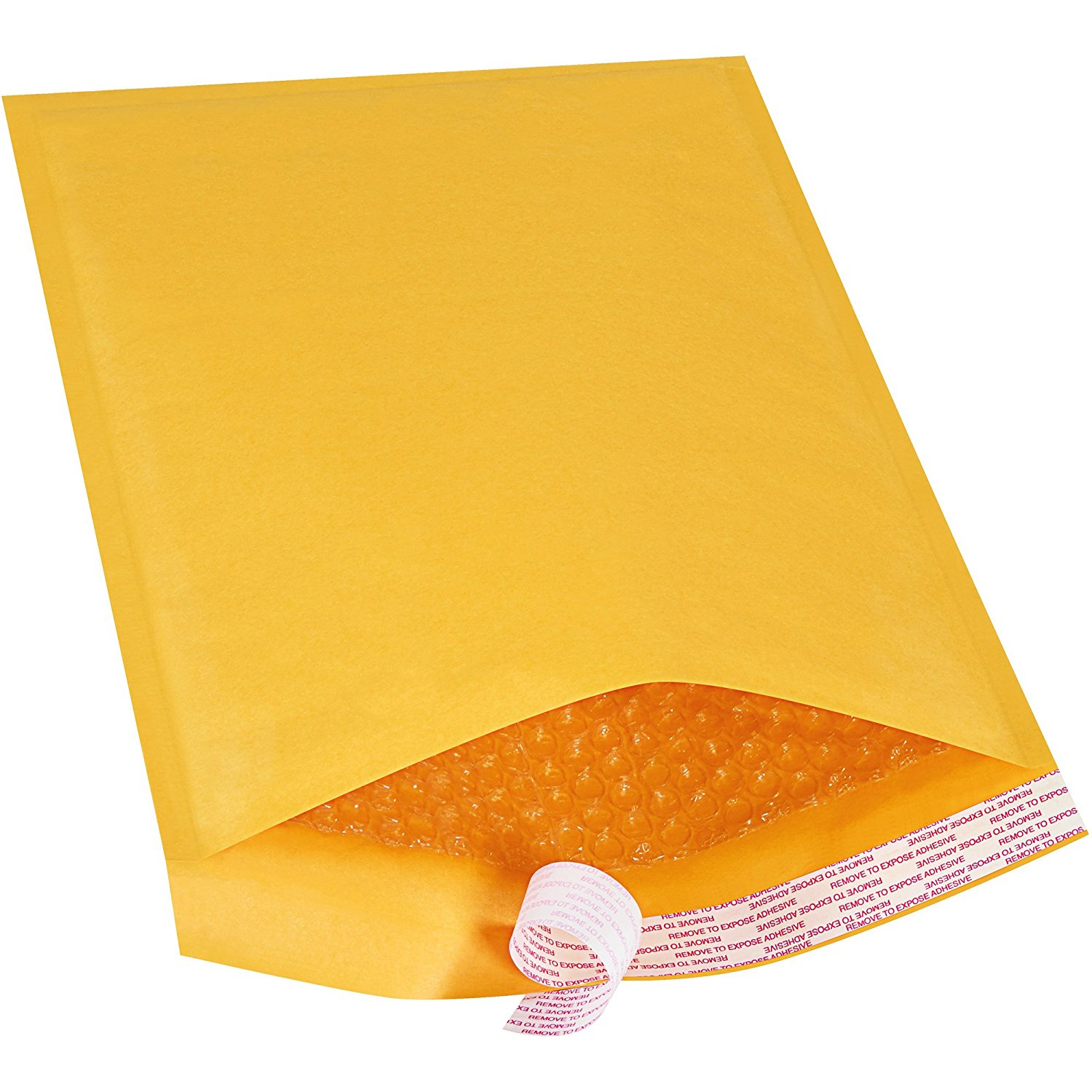 "Ship Now Supply SNB857SSR Self-Seal Bubble Mailers, #4, 9 1/2"" x 14 1/2"", 9.5"" width, 14.5"" Length, Kraft (Pack of 70)"