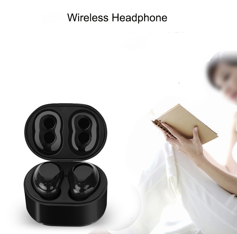 X6 wireless touch bluetooth headset tws double ear with charging Mini sports headset for iPhone X Samsung note 7