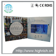 "Maßgeschneiderte 7"" lcd digitale <span class=keywords><strong>video</strong></span>-grusskarte/Business grafikkarte/<span class=keywords><strong>Video</strong></span> Märchenbuch mit speicher"
