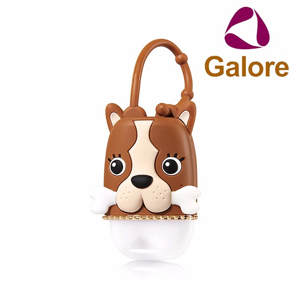 Pocketbac Holder Dog Animal Shaped Hand Shower Gel Bottle Holder