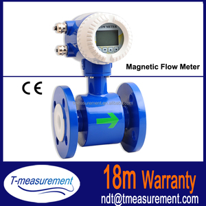 made in China milk magnetic flowmeter/electromagnetic flow meter from  Taijia Tech