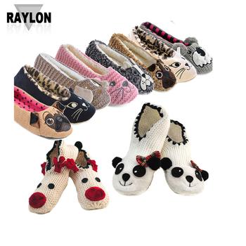 6face37d4966f Raylon-1149 pantoufle chaussettes femmes chaussettes pour les femmes  chaussons femme