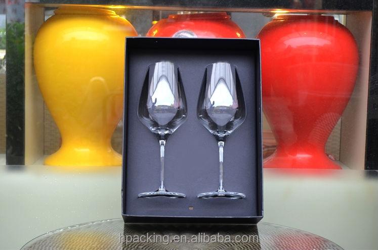 verre de vin carton emballage cadeau bo tes coffrets cadeaux pour verres vin caisses d. Black Bedroom Furniture Sets. Home Design Ideas