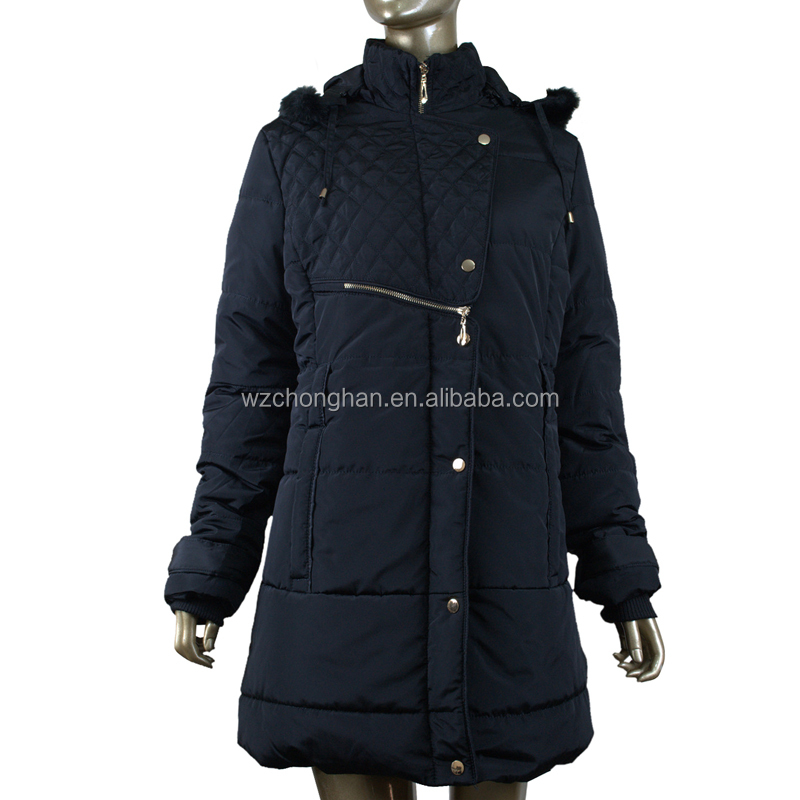 ultralight down coat fashion design for women