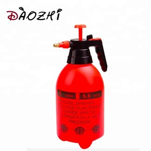 Portable flat fan 2L 3L hand air pressure water bottle sprayer for garden home tools