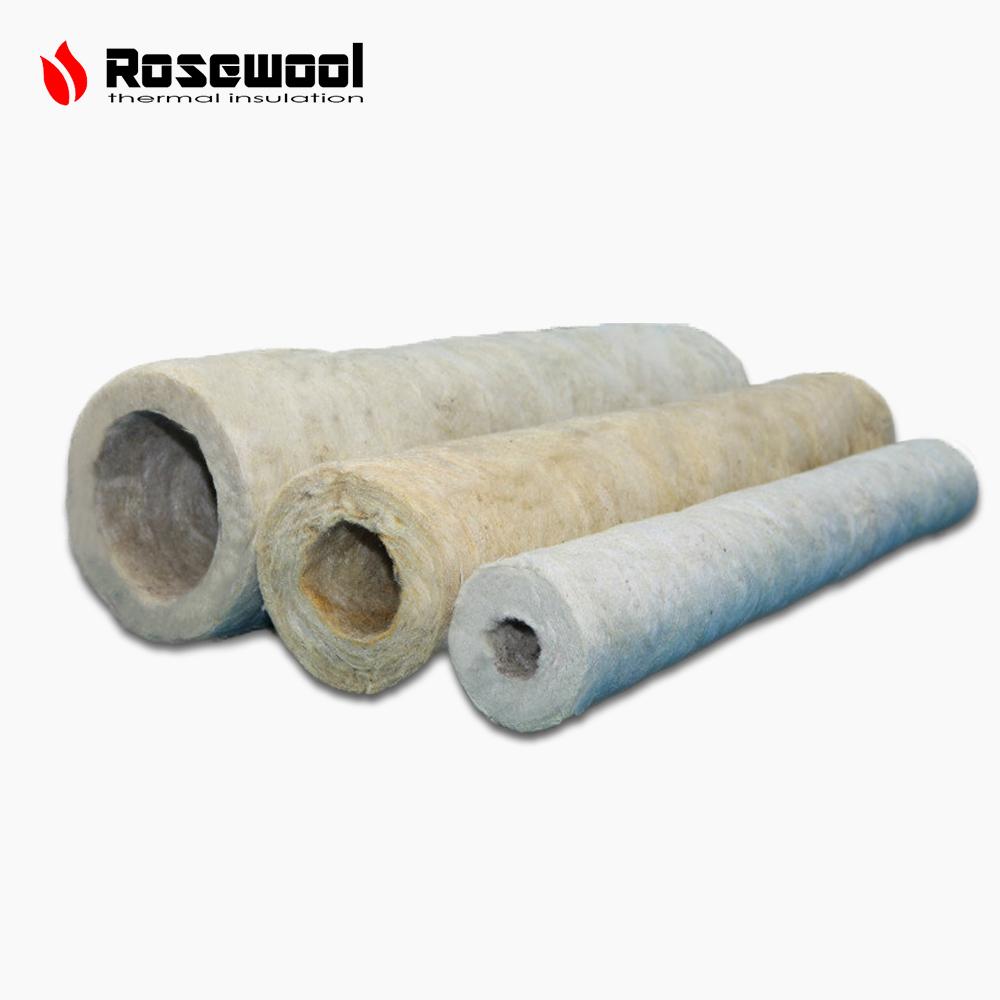 Heat Insulation Rockwool Cover Steel Steam Pipe Insulation - Buy Rock Wool  Pipe Cover,Rock Wool Pipe Insulation,Rockwool Cover Steel Steam Pipe