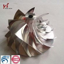 Kinerja tinggi upgrade turbo K16 billet kompresor <span class=keywords><strong>roda</strong></span> 54.64*71.00, 7 + 7