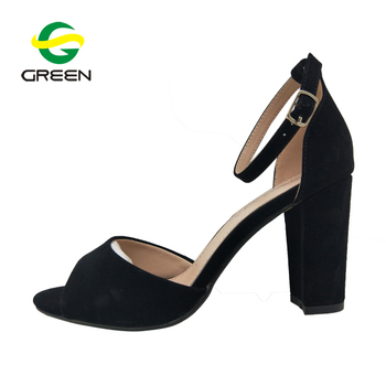 77f663538c6 New design ladies comfort low heel dress shoes sandals women heel shoes