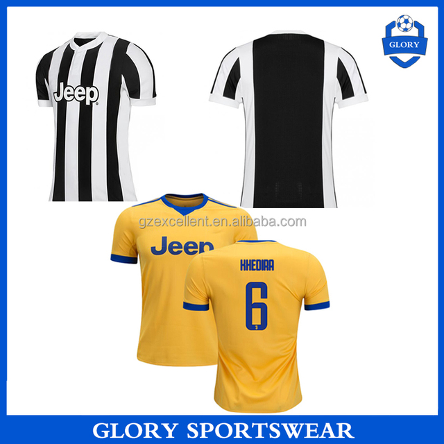 New Top thai quality wholsale 2017 2018 Juventus soccer jersey