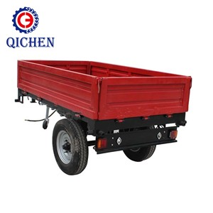 Hot sale 7CX-3 flat farm trailer