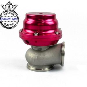 MVS 38mm Wastegate With V-BAND And Flanges MV-S Turbo Wastegate With Logo