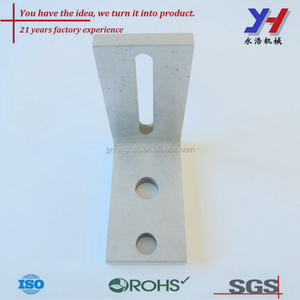 Customized Aluminum parts for ventilated facade stone fixing system,aluminum profile