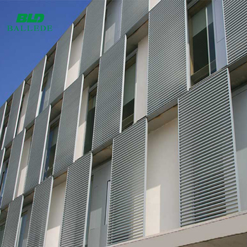 Architectural Exterior Sun Shade Exterior Shutters Louvre