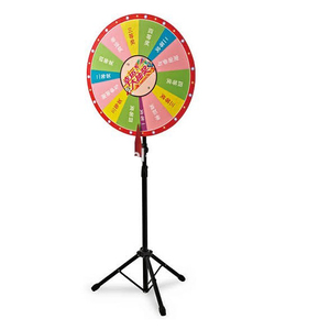 lottery Wheel of fortune lucky turntable for lottery promotion activities prize wheel display