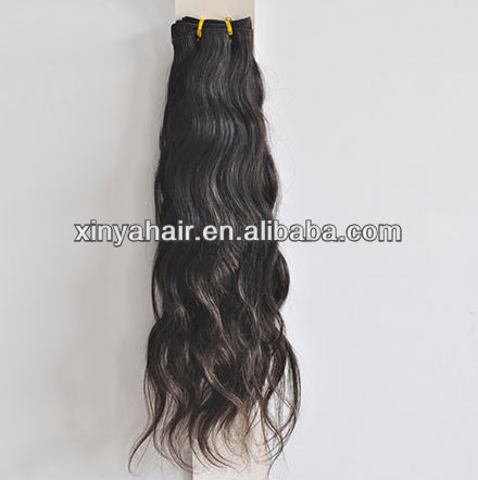 Unprocessed raw 100% brazilian human hair extension hair swatch