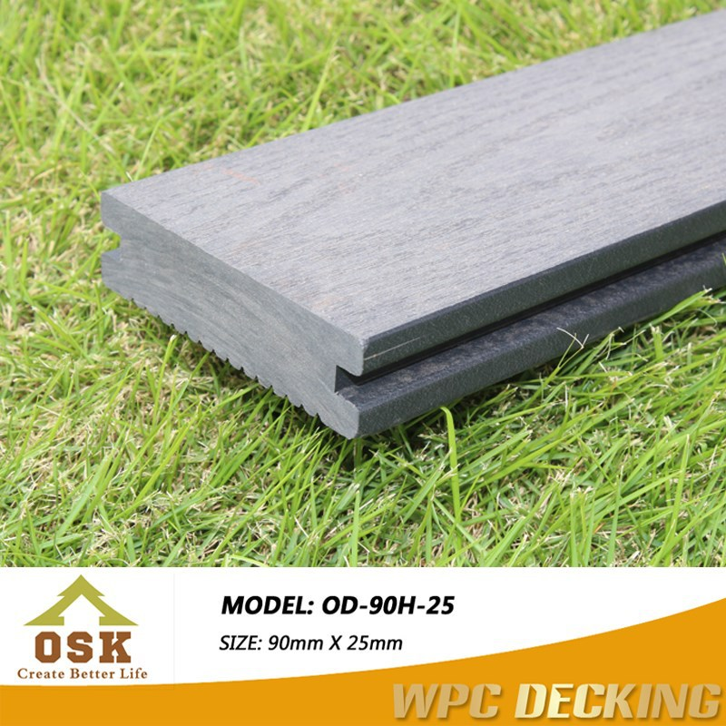 Durable and water proof wood plastic composite/wpc wall panel passed CE