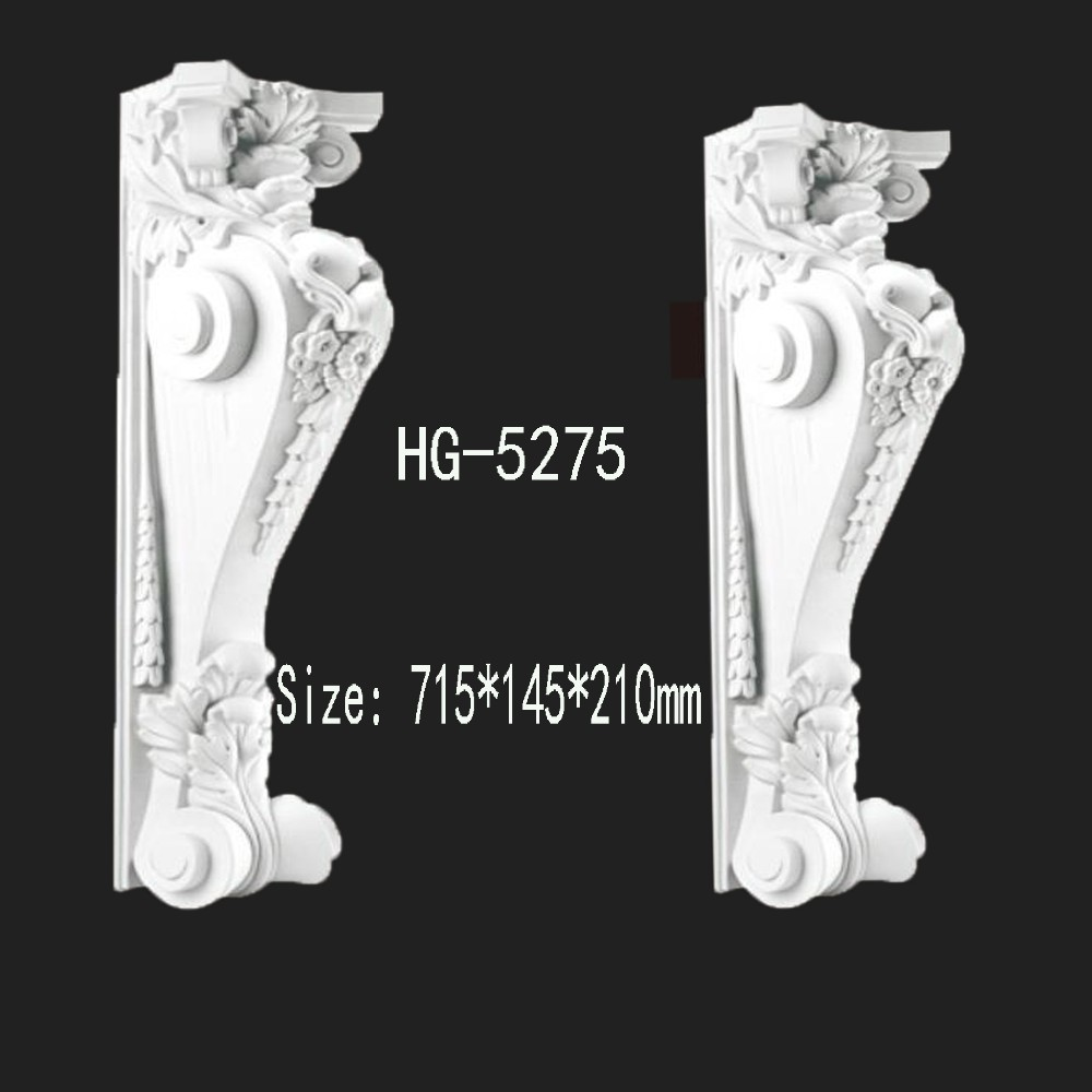 Factory-price Delicate Pu (polyurethane)exotic Corbels