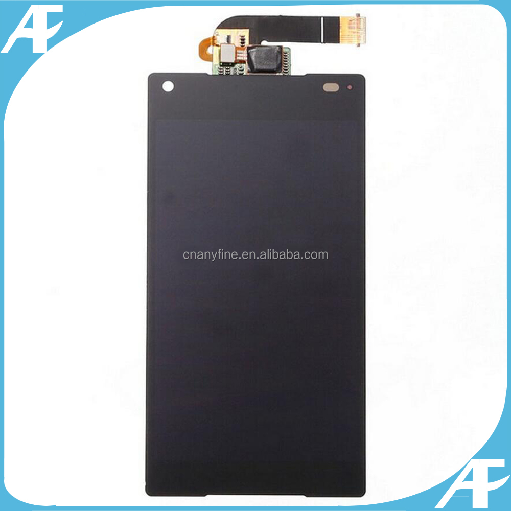 Mobile Phone for Sony Z5 Mini LCD With Touch Digitizer Assembly Black