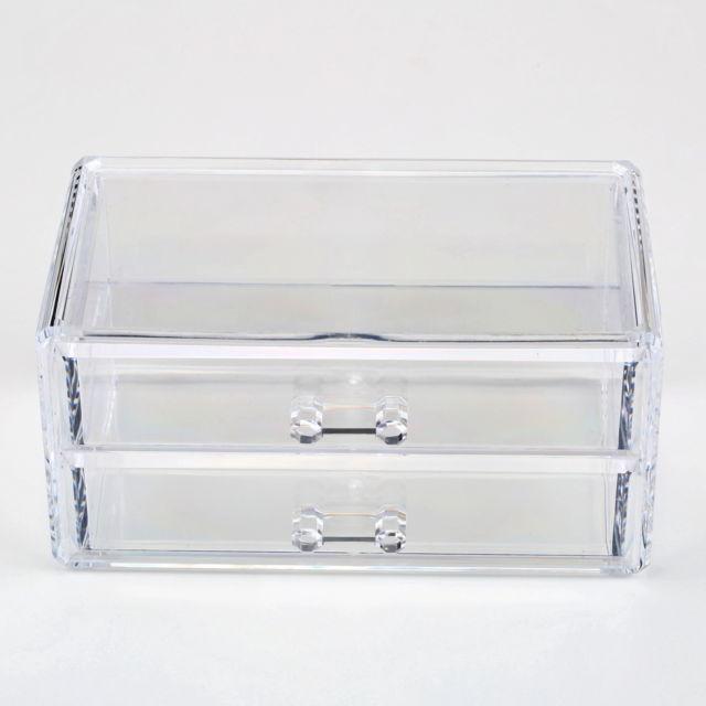 regarder 95402 63cf7 New clear ikea. boîtes d'affichage acrylique avec un couvercle et  séparateurs pour conserver le sachet de thé