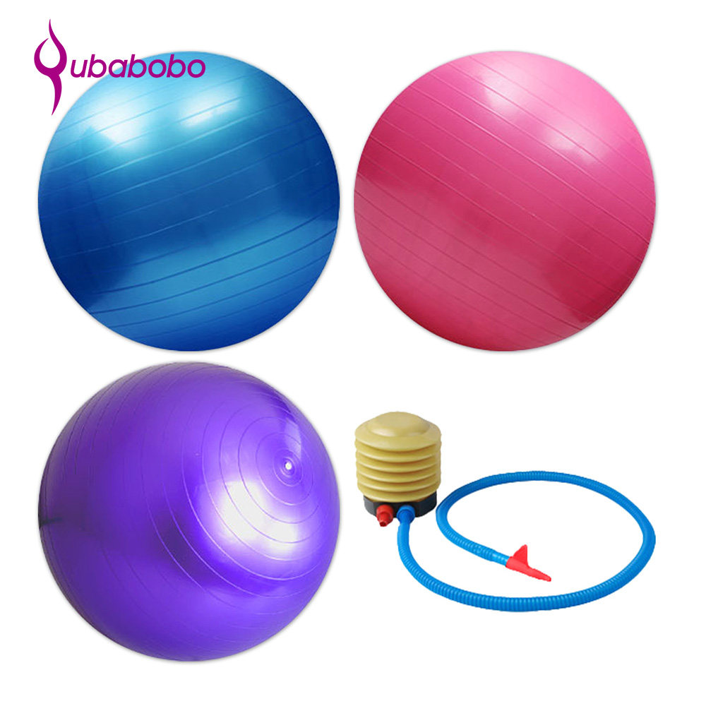 2018 New Amazon sells well ECO-friendly Swiss Ball Anti Burst PVC Gym Exercise Ball Fitness Yoga Ball