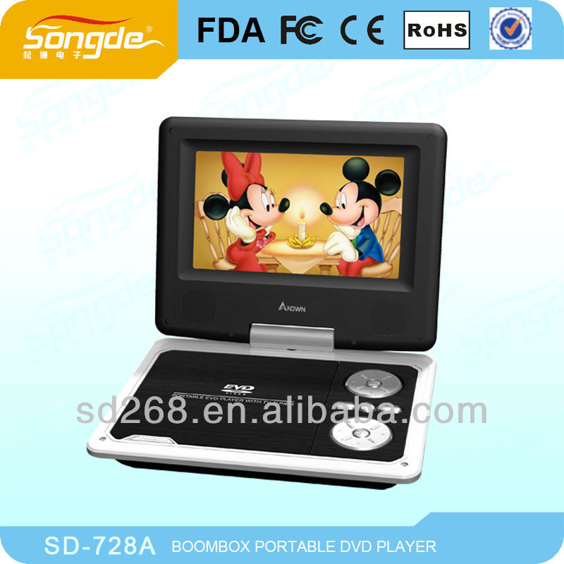 Portable Boombox DVD Player with video Game