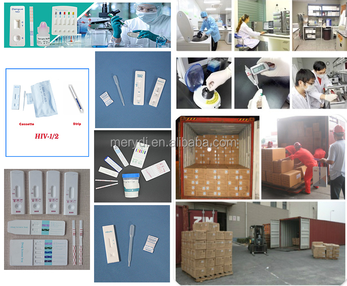 One step colloid gold Pregnancy (HCG) Rapid diagnostic Urine test strip/ cassette/ midstream