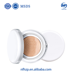 Private Label Face Base Foundation Natural Brightening Air CC Cushion Face Cream