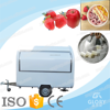 fruit ice cream application hot sale soft serve ice cream cart/ mobile ice cream cart with wheels