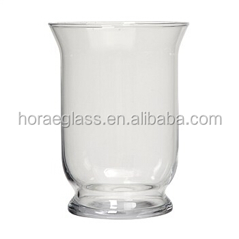 Wholesale Clear Round Large Clear Glass Vaseslarge Hurricane Vases