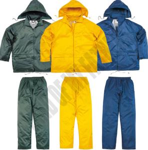 Waterproof garden finishing Rain coat with detachable hood Mens uniform workwear
