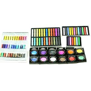 Fashion round hair chalk and hair chalk for sale for hair dye chalk