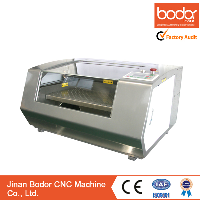 Bodor Mini Laser Engraving and cutting Machine BCL0503MU, jewelry engraver with Wifi control and 3 years warranty