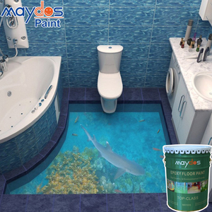 Maydos Liquid 3d Floor Self Leveling Epoxy Floor Paint For Decorated Floor