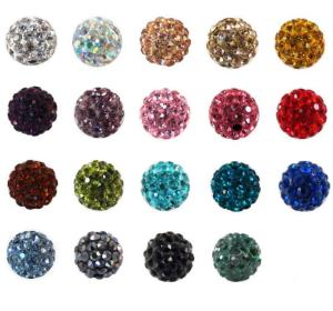 40color decorative beading rhinestone gemstones crystal beads for jewelry making