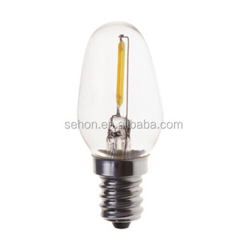 Vintage led bulb filament bulbs 05w 1w decorative lamp c7 c9 t26 vintage led bulb filament bulbs 05w 1w decorative lamp c7 c9 t26 chandelier light aloadofball Images